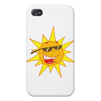 Hot Sun Cartoon Character iPhone 4/4S Covers