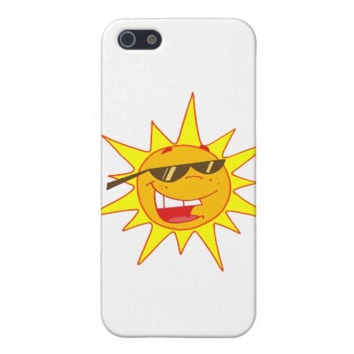 Hot Sun Cartoon Character Cover For iPhone 5