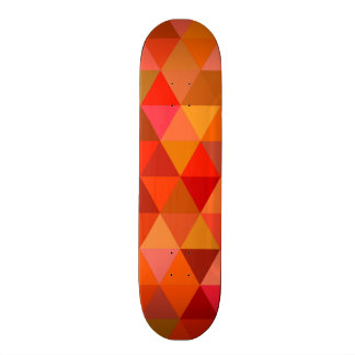 Hot sun triangles 21.3 cm mini skateboard deck
