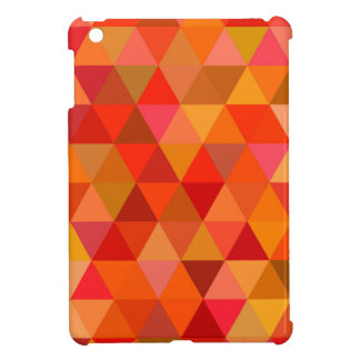 Hot sun triangles cover for the iPad mini