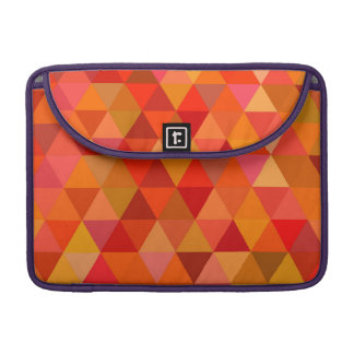 Hot sun triangles sleeve for MacBook pro