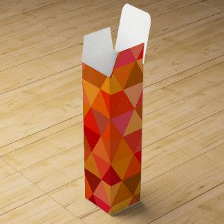 Hot sun triangles wine gift box