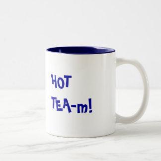 Hot Team - HOT TEA-m funny pun Coffee Mugs
