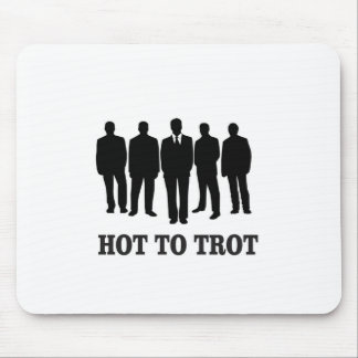 hot to trot mouse pad