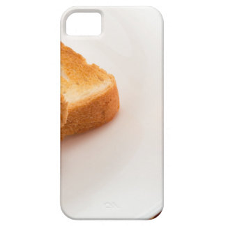 Hot toast with butter and cup of tea iPhone 5 case
