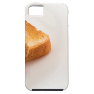 Hot toast with butter and cup of tea iPhone 5 cover
