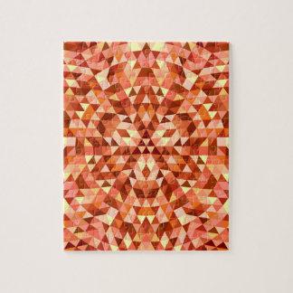 Hot triangle mandala jigsaw puzzle