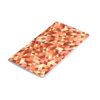 Hot triangle mandala journal
