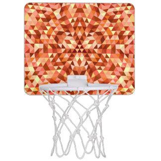 Hot triangle mandala mini basketball hoop