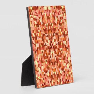 Hot triangle mandala plaque