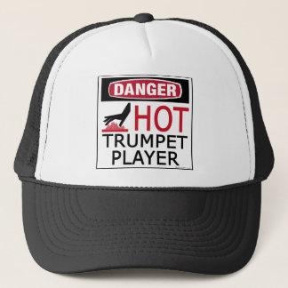 Hot Trumpet Player Trucker Hat