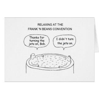 Hot Tub Birthday Card