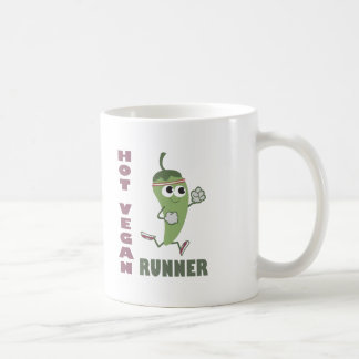 Hot Vegan Runner Coffee Mug