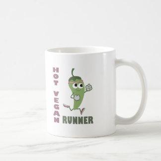 Hot Vegan Runner Basic White Mug