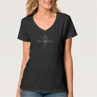 Hot Waitress - Serveritis Womens Shirt