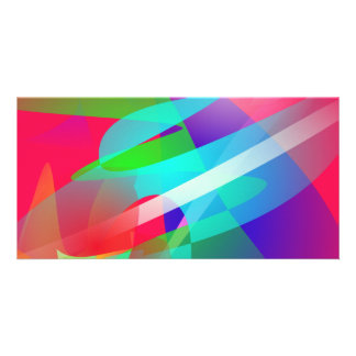 Hot Weather Cool Wind Art Personalized Photo Card