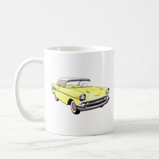 Hot Yellow '57 Shoebox Coffee Mug