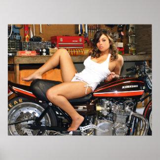 Hot Z Model Poster