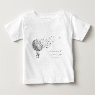hotair dandylion baby T-Shirt