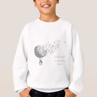 hotair dandylion sweatshirt