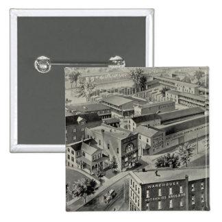 Hotchkiss Bros & Co 15 Cm Square Badge