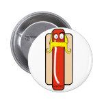 Hotdog Hulk Hogan Button