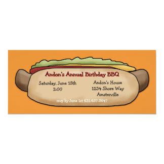 Hotdog Invitation