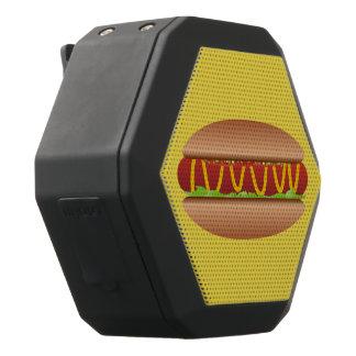 Hotdog picture black bluetooth speaker