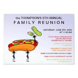 Hotdogs, Pickles & Ants Family Reunion Invitation