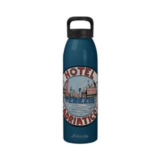 Hotel Adriatico Venice Italy Water Bottles