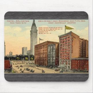 Hotel Arlington New York City , Vintage Mouse Pad