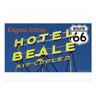 Hotel Beale Route 66 Kingman Arizona 2 Postcard