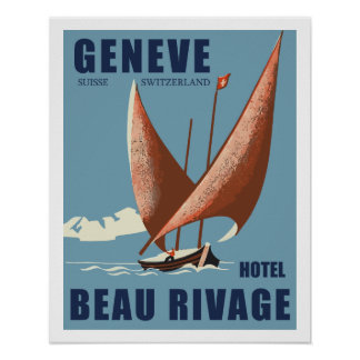 Hotel Beautiful Shore (Geneva - Switzerland) Poster