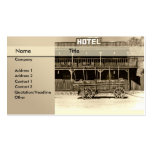hotel \ bed and breakfast \ hostel business card templates