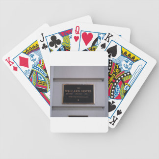 Hotel Bicycle Playing Cards