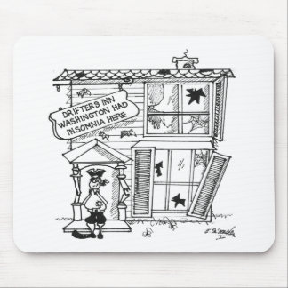 Hotel Cartoon 3442 Mouse Pad