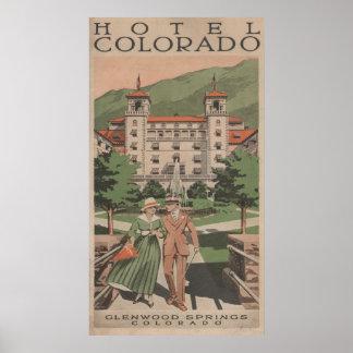 Hotel Colorado Travel Poster