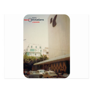 Hotel Commodore Beirut Postcard
