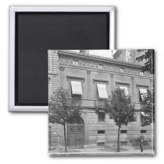 Hotel de Pourtales, late 19th century-early Square Magnet