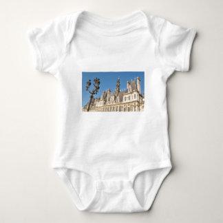 Hotel de Ville (City Hall) in Paris, France Baby Bodysuit