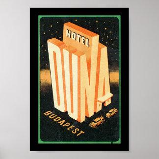 Hotel Duna Budapest Poster