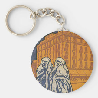 Hotel Excelsior Casablanca Basic Round Button Key Ring