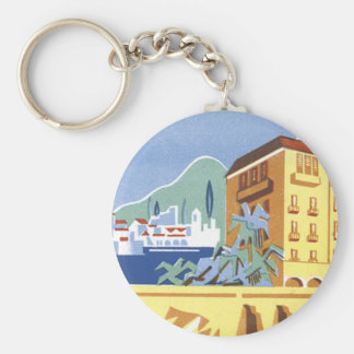 Hotel Excelsior Dubrovnik Basic Round Button Key Ring