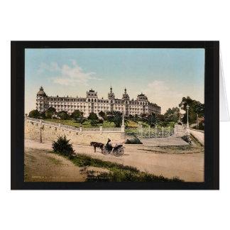 Hotel Excelsior, Regina Palace, Cimiez, Nice, Fran Card