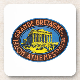 Hotel Grande Bretagne Athenes Beverage Coaster