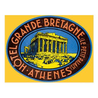 Hotel Grande Bretagne - Greece Postcard