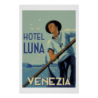 Hotel Luna (Venezia Italy) Poster