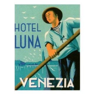 Hotel Luna Venezia Postcard