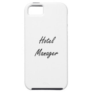 Hotel Manager Artistic Job Design iPhone 5 Cases