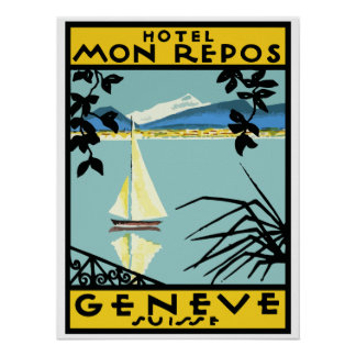 Hotel My Rest (Geneva - Switzerland) Poster